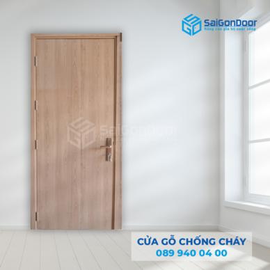 Cửa gỗ chống cháy là gì? TOP 30+ mẫu cửa gỗ chống cháy sang trọng và hiệu quả